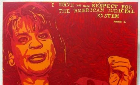 George Zimmerman Unveils Latest Painting, Rips Trayvon Martin Prosecutor Angela Corey