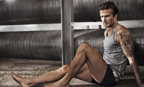 David Beckham H&M Photo