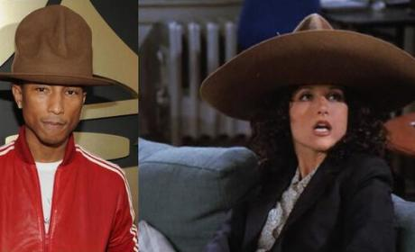 Pharrell and Elaine Benes