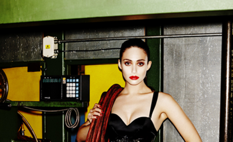 Emmy Rossum in Complex Photo