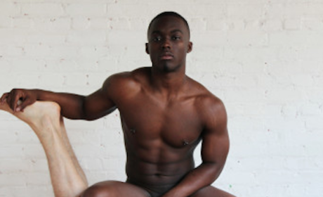 "Gay Russian Artist Responds to ""Black Woman Chair"" Pic With Even More NSFW Image"