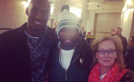 Meryl, Fiddy and Kobe
