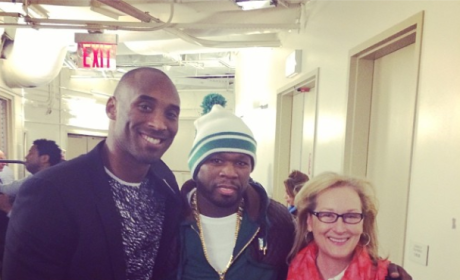 Kobe, Fiddy and Meryl