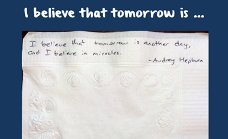 Tomorrow Is ...