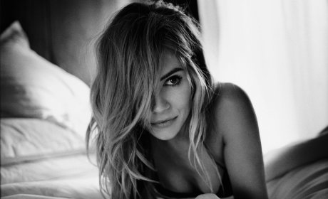 Sienna Miller Topless in Esquire