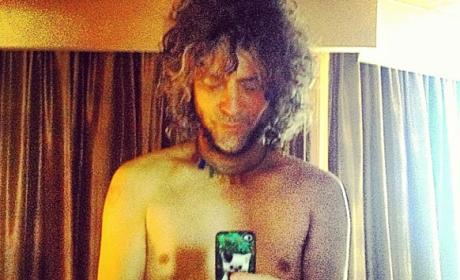 Wayne Coyne: Naked on Twitter!