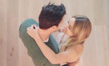 Lauren Conrad-William Tell Engagement Photo: Simply Beautiful ...