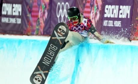 Shaun White Falls at Olympics