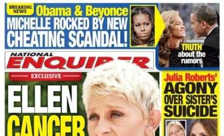 Ellen DeGeneres National Enquirer