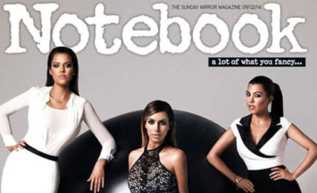 Kardashians Kover Notebook, Kreate Kontroversy: Where Are Their Kurves?