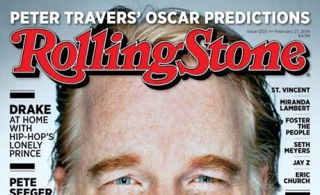 "Drake ""Disgusted"" About Rolling Stone Giving His Cover to Philip Seymour Hoffman"