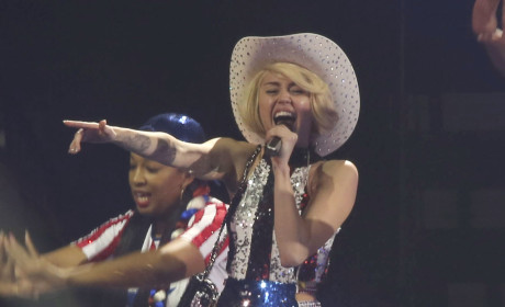 Miley Cyrus as a Cowgirl