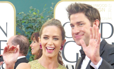 Emily Blunt and John Krasinski Photo