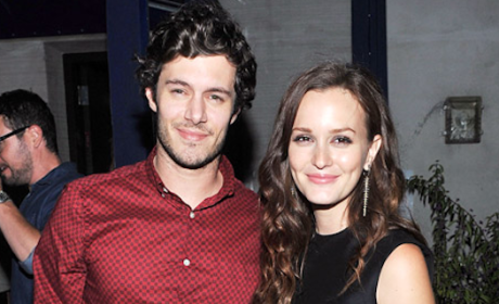 Leighton Meester and Adam Brody Photo