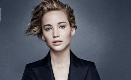 Jennifer Lawrence Dior Campaign Photo