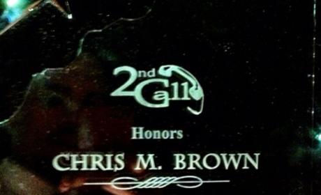 Chris Brown Award!