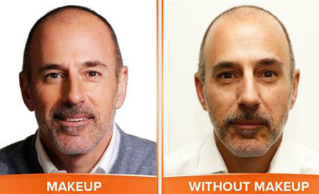 Matt Lauer: No Makeup!