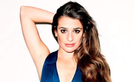 Lea Michele: Half-Naked for Terry Richardson!