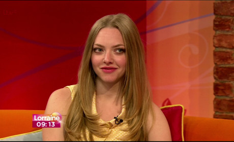 Amanda Seyfried Talk Show Photo