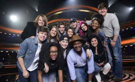 The American Idol Top 13