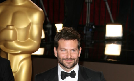 Bradley Cooper at the Oscars