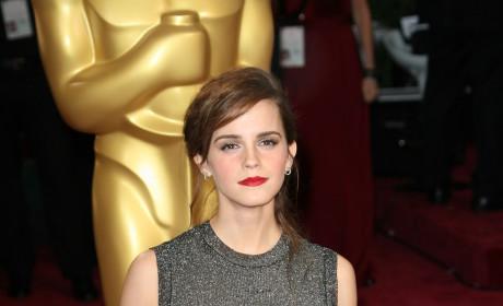 Emma Watson at the Oscars