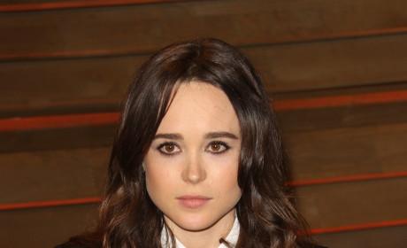 Ellen Page in a Suit