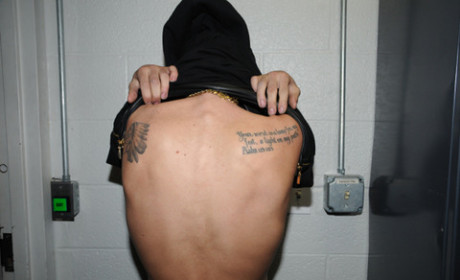 Justin Bieber Back Tattoos