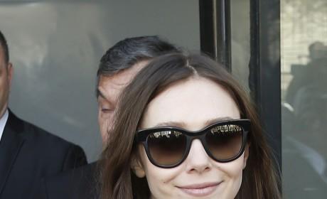 Elizabeth Olsen Smiles