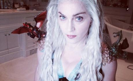 Madonna Dresses as Daenerys Targaryen for Purim