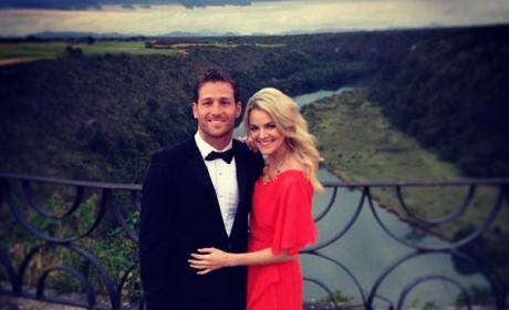 Nikki Ferrell & Juan Pablo Galavis Attend Wedding (Not Theirs), Appear Happy