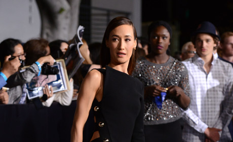 Maggie Q Goes Commando for Divergent Premiere