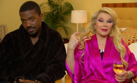 Joan Rivers and Ray J