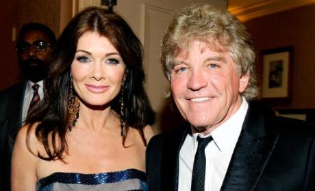 Lisa Vanderpump and Ken Todd