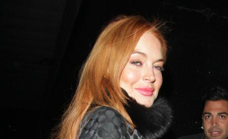 Lindsay Lohan Drunk Photo