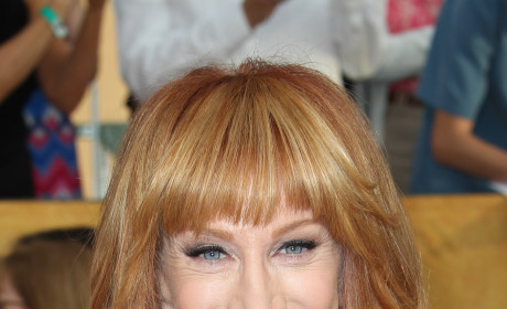 Kathy Griffin Golden Globes Photo