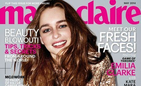 Emilia Clarke in Marie Claire: I Want Kids! Ask Me On a Date!