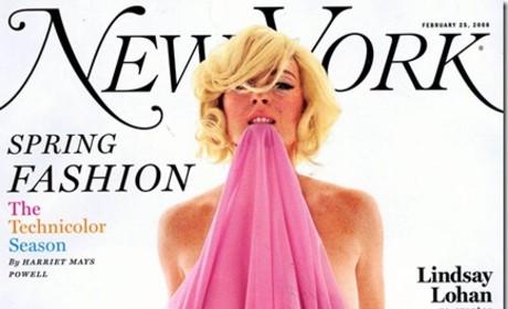 Lindsay Lohan for New York Magazine