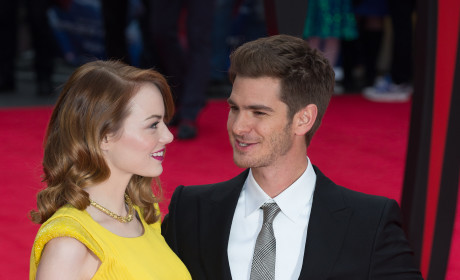 Andrew Garfield and Emma Stone Red Carpet Pic