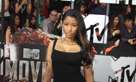 Nicki Minaj at MTV Movie Awards