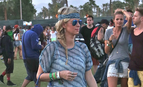 Nicky Hilton at Coachella