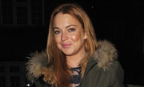 Lindsay Lohan: Drunk At Coachella! SHOCKER!!!