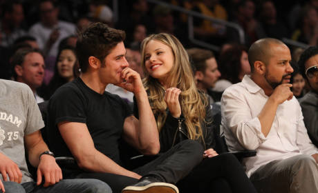 Halston Sage: Dating Zac Efron?