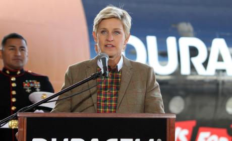 Ellen DeGeneres Speech Photo