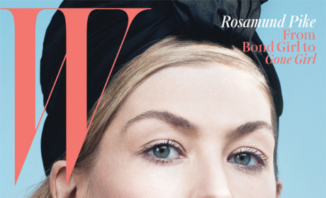 Rosamund Pike, Gone Girl Star, Covers W Magazine, Talks Playing Amy Dunne