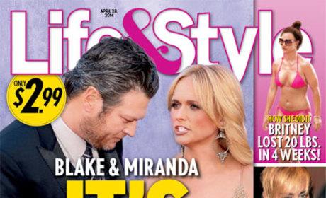 Blake Shelton and Miranda Lambert: Over?