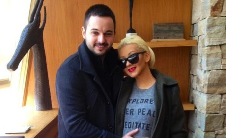 Christina Aguilera Baby Bump Photo: Baby Loves NYC!