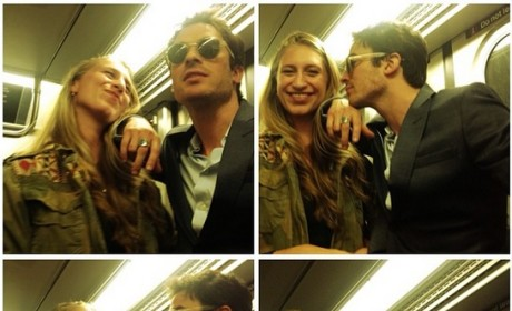 Molly Swenson and Ian Somerhalder Photos