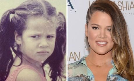 Khloe Kardashian as a Kid