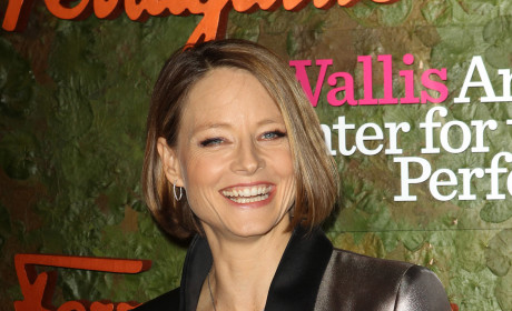 Jodie Foster Smiling